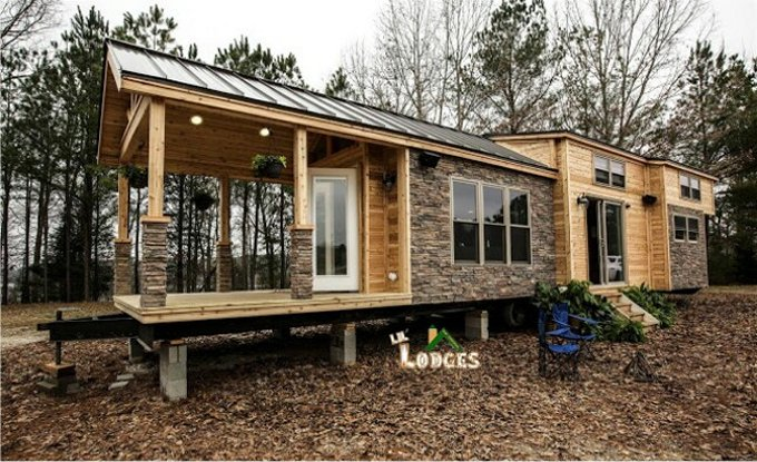 Smart cabin tiny home
