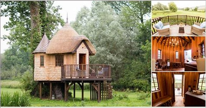 Treehouse fairytale