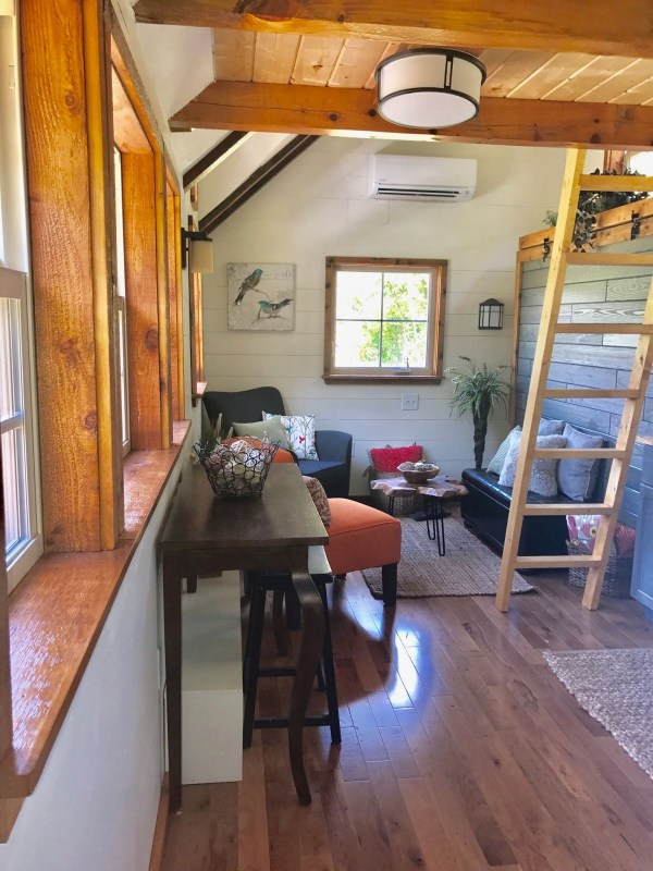 Highland tiny home interior