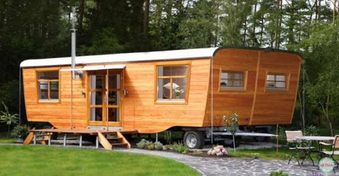 Double wide tiny house