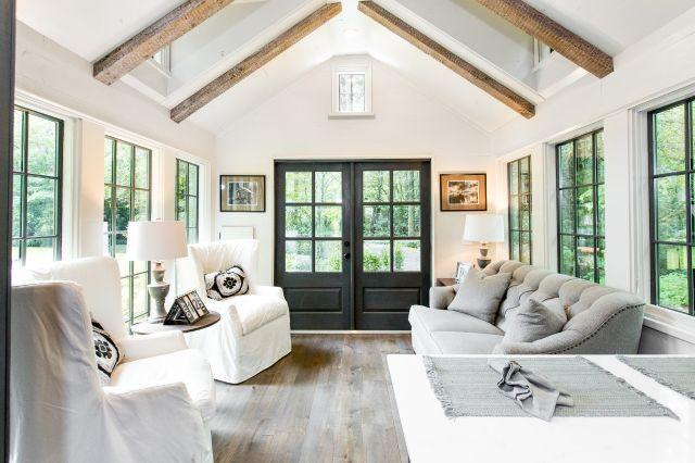 Country tiny house interior