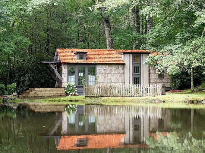 Country tiny house