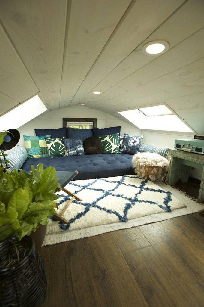 Gem tiny house loft