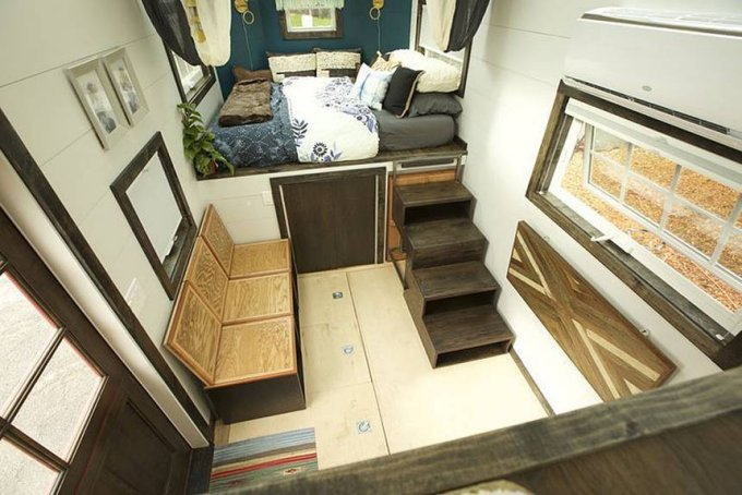 Gem tiny house interior