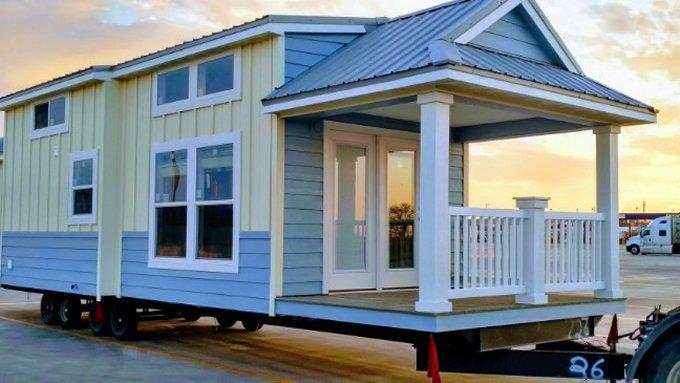 Beach tiny house