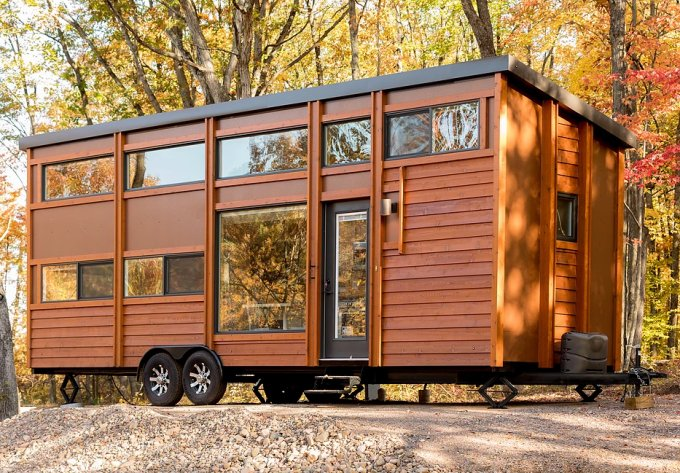 Elegant tiny house