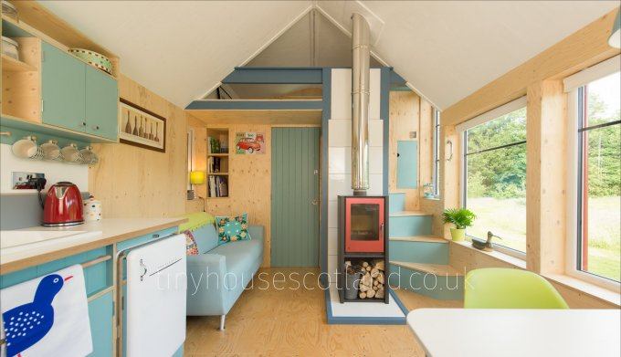 NestHouse tiny house interior