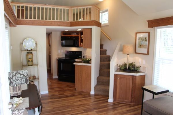 Park model tiny house interior