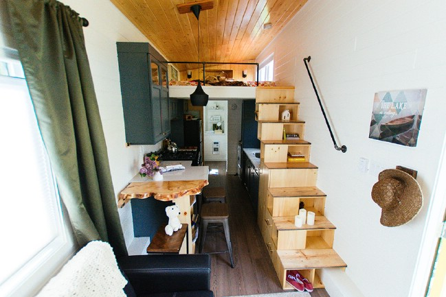 Tiny house inside