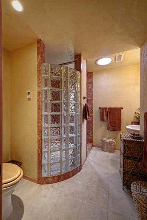 Small house bathroom