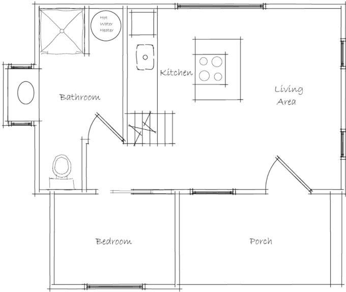 Walden Tiny House plan
